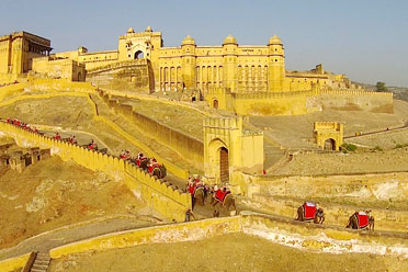 amer fort luxury car tour