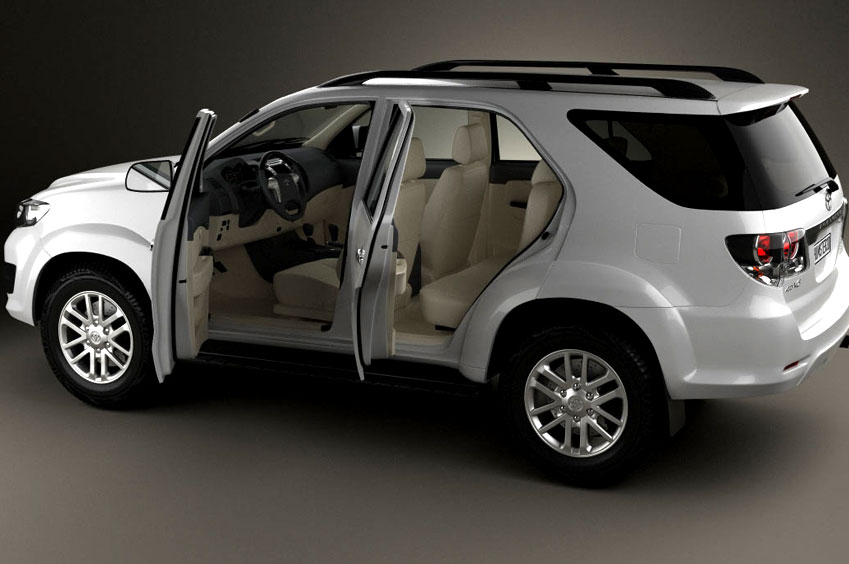 Toyota Fortuner Luxury Car Rajasthan